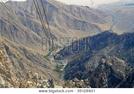 Aerial Tramway Way View