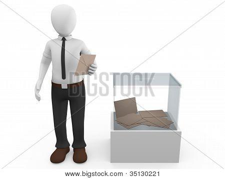 Ballot Box Man