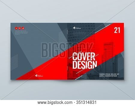 Catalog Template Layout Design. Corporate Business Annual Report, Catalog, Magazine, Flyer Mockup. C