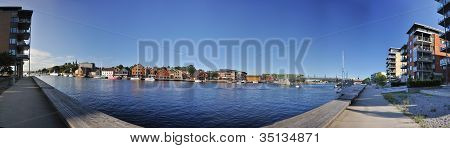 Tonsberg Waterfront, Brygge, With Restaurants