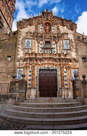 Church Of San Bartolome At Jerez De Los Caballeros, Badajoz, Spain.