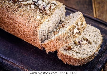 Brazil Nut Bread, Export Product From The Amazon. Brazil Nuts Are Called