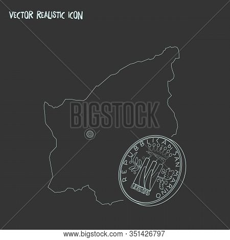 San Marino Icon Line Element. Vector Illustration Of San Marino Icon Line Isolated On Clean Backgrou