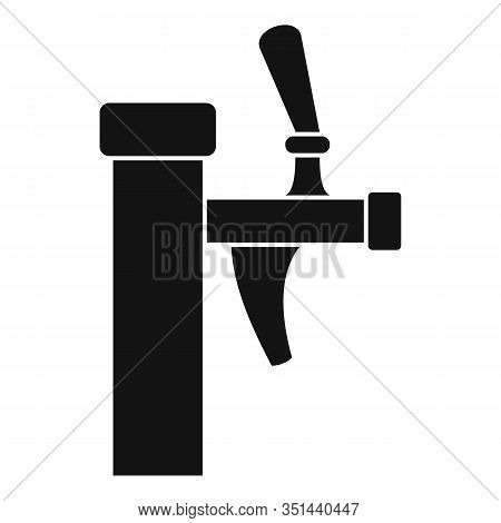 Kvass Faucet Icon. Simple Illustration Of Kvass Faucet Vector Icon For Web Design Isolated On White