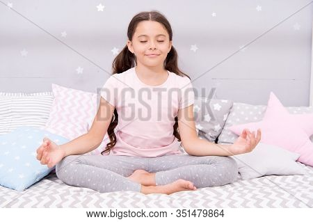 Relax And Ease The Transition To Sleep. Bedtime Concept. Ways To Relax Before Bedtime. Relaxation Ex