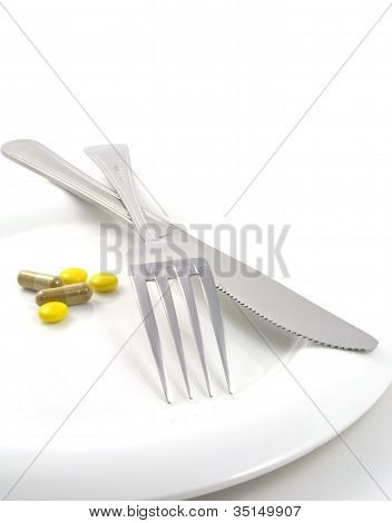 A Meal Of Tablets