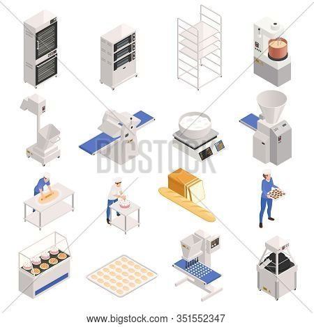 Bakery Confectionery Industrial Equipment With Personnel Oven Mixer Dispenser Cooking Scales Dough K