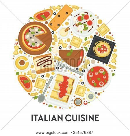 Italian Cuisine Menu, Pizza And Pasta, Food Of Italy