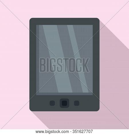 Cloud Ebook Icon. Flat Illustration Of Cloud Ebook Vector Icon For Web Design