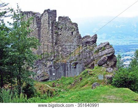 Schalun Castle (german Burg Schalun Or Ruine Schalun), Also Known Colloquially As Wildschloss (castl