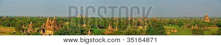 panorama of Bagan