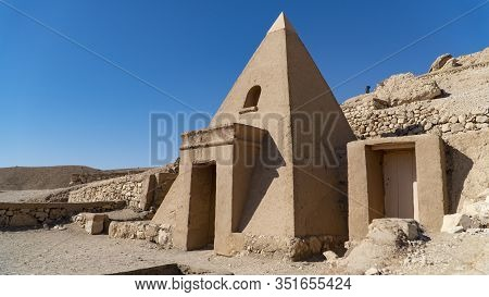 Luxor, Egypt: Deir El-medina, Is An Ancient Egyptian Village Which Was Home To The Artisans Who Work