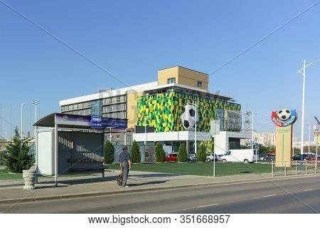 Evpatoria, Crimea, Russia-september 10, 2019: Arena-crimea Sports Complex In Evpatoria For Training