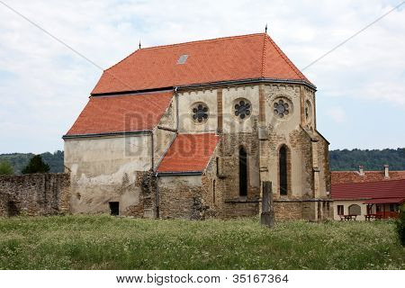 Old cistercian church from Carta