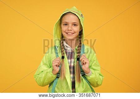 Rain Is Not Hindrance. Waterproof Cloak. Waterproof Fabric For Your Comfort. Rainproof Accessory. Sc