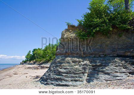 Coastline of Lake Erie