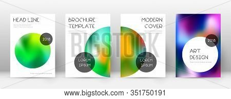 Flyer Layout. Trendy Posh Template For Brochure, Annual Report, Magazine, Poster, Corporate Presenta