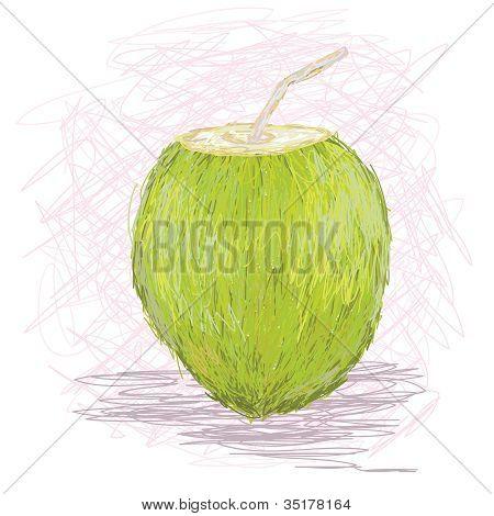 Coconut Fruit Juice