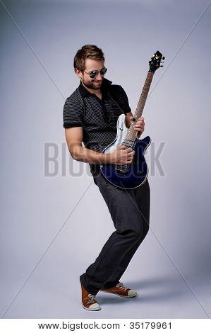 Rockstar Guitar Player