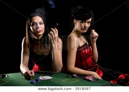Two Poker Players