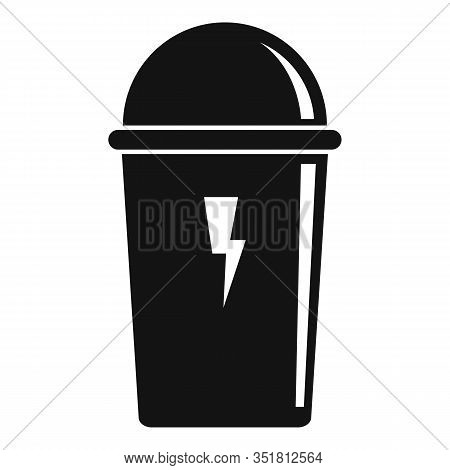 Energy Drink Vacuum Insulated Icon. Simple Illustration Of Energy Drink Vacuum Insulated Vector Icon