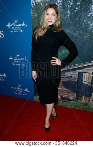 LOS ANGELES - FEB 11:  Pascale Hutton at the 'When Calls the Heart' TV show season 7 premiere at the Beverly Wilshire Hotel on February 11, 2020 in Beverly Hills, CA