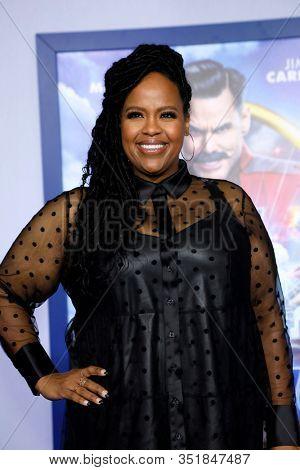 LOS ANGELES - FEB 12:  Natasha Rothwell at the