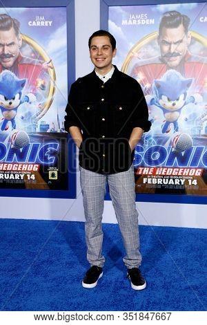 LOS ANGELES - FEB 12:  Jake T Austin at the
