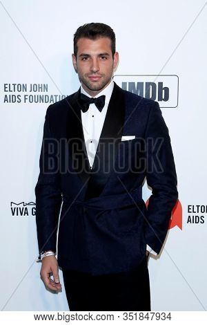 LOS ANGELES - FEB 9:  Tommy Chiabra at the 28th Elton John Aids Foundation Viewing Party at the West Hollywood Park on February 9, 2020 in West Hollywood, CA