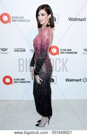 LOS ANGELES - FEB 9:  Paz Vega at the 28th Elton John Aids Foundation Viewing Party at the West Hollywood Park on February 9, 2020 in West Hollywood, CA