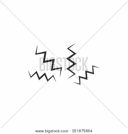 Electricity Shock Lightning. Speed Flashing Lightnings Bolt, Shock Lightning Arrow Symbols. Stock Ve