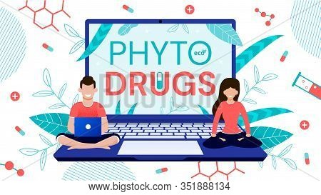 Green Herbal Phyto Drugs Order Online Service. Nutraceuticals Made From Dietary Supplements, Pharmac