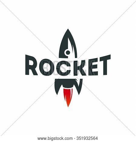 Cool Rocket Logo Designs Vector, Rocket Sign, Icon, Template