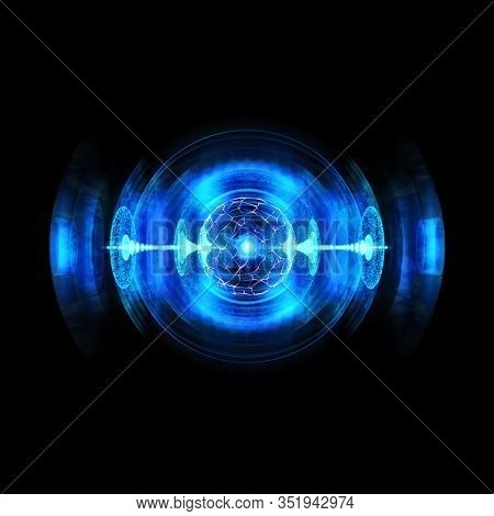 Smashing High Energy Particles Producing Discharge. Antigravity, Magnetic Field, Nuclear Fusion And