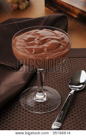 Gourmet Chocolate Pudding