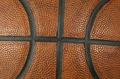 Basketball ball detail poster