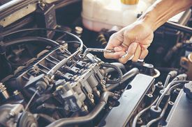 Mechanic Car Service In Automobile Garage Auto Car And Vehicles Service Mechanical Engineering. Auto