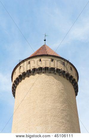 Beautiful castle Konopiste, Czech Republic
