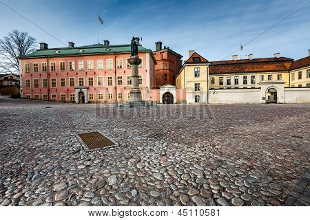 Birger Jarls Square In Riddarholmen (part Of Gamla Stan), Stockholm, Sweden