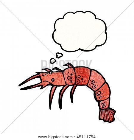 cartoon shellfish poster