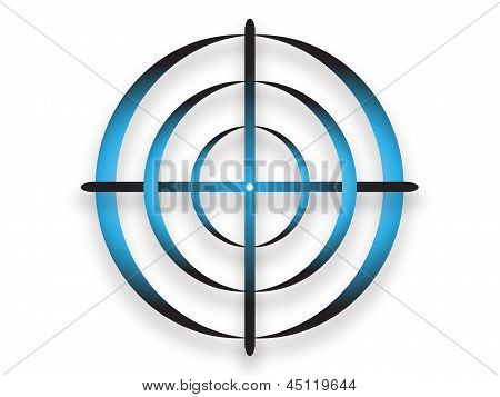 Abstract target shape