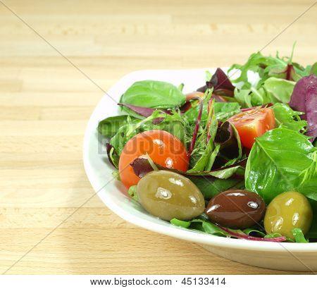 Mixed Baby Green Salad