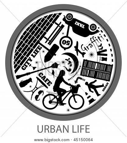 Circle of urban life