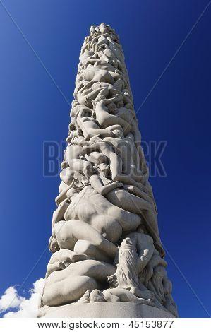 Vigeland Sculpture Arrangement, Frogner Park, Oslo, Norway