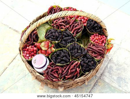 Mulberry Basket