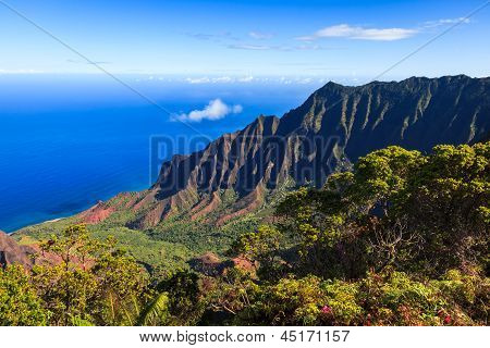 Kalalau Valley In The Morning