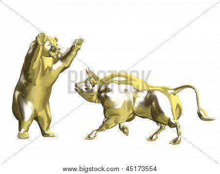 Bulls Vs Bears - Gold Market