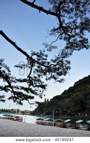 KYOTO- OCT 23: Beautiful Landscape In Arashiyama, Kyoto, Japan