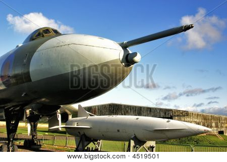 Vulcan Bomber And Blue Streak Missile