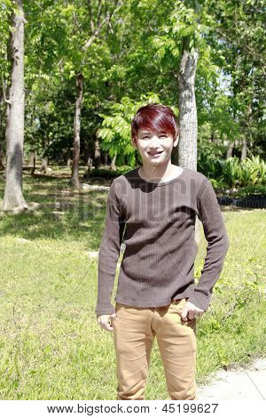 Young Asian Teen